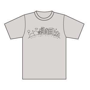 ホタルヒルズTシャツ(OATMEAL)