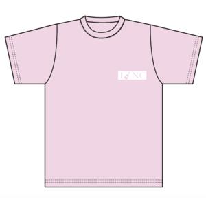 """中村千尋""""I♥NC Tシャツ""""(ピンク)"""