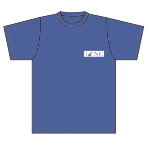 """中村千尋""""I♥NC Tシャツ""""(ネイビー)"""