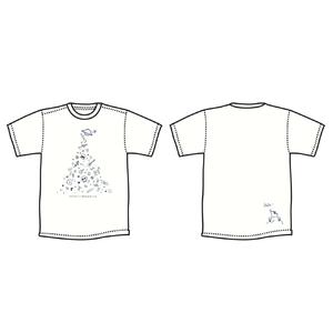 ◯△⬜︎ Tシャツ [ ホワイト]