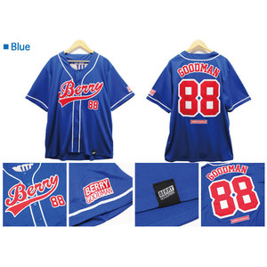 ★ファンクラブ限定★ベリーグッドマン_ベースボールシャツ ( BLUE )