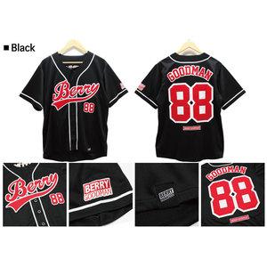 ★ファンクラブ限定★ベリーグッドマン_高級ベースボールシャツ ( BLACK )