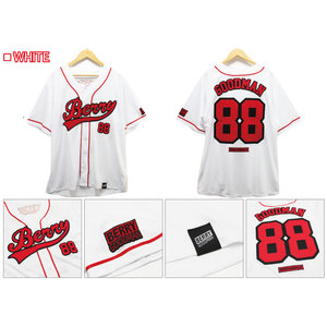 ★ファンクラブ限定★ベリーグッドマン_高級ベースボールシャツ ( White )