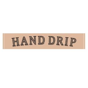 「HAND DRIP」タオル