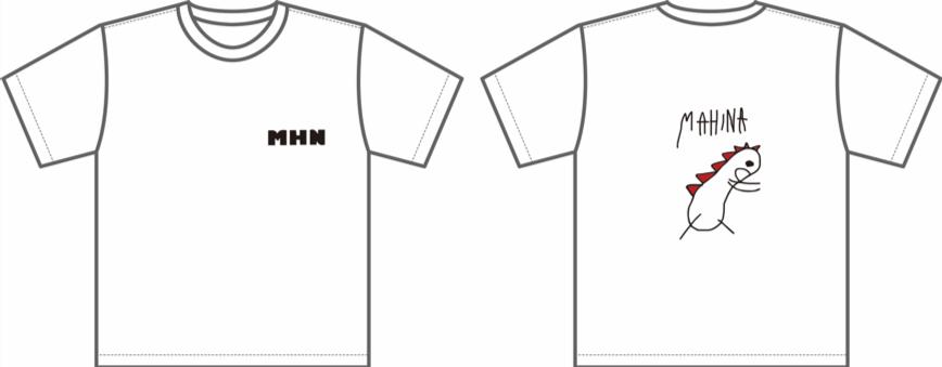 mahinaきょうりゅうTシャツ