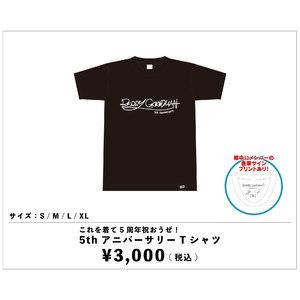 5th アニバーサリー Tシャツ