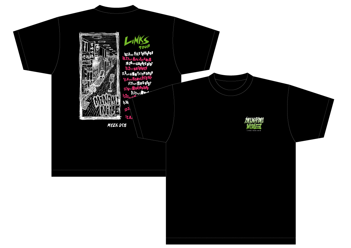 """LINKS TOUR"" T-shirt"