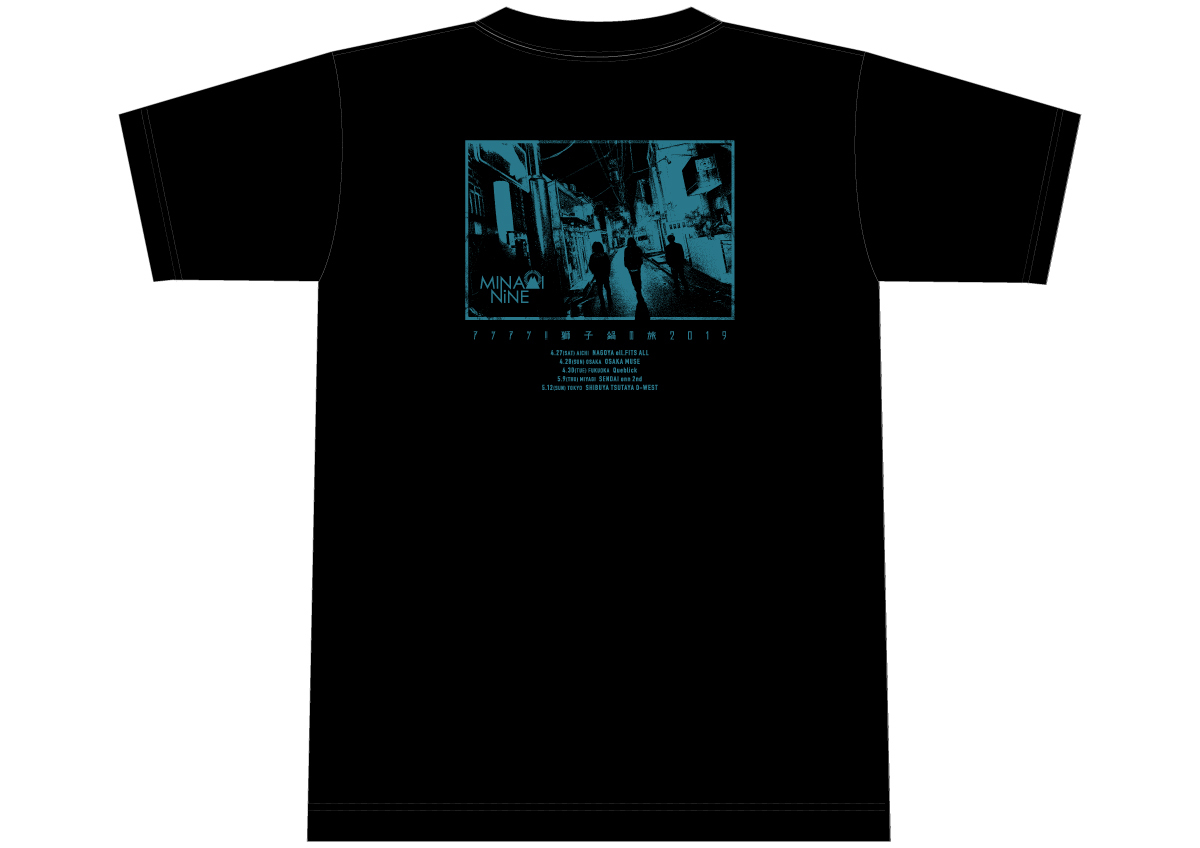 """【アツアツ!!獅子鍋の旅 2019】ツアーT-shirt """"ARIGATO MUSIC STORE限定カラー"""""""