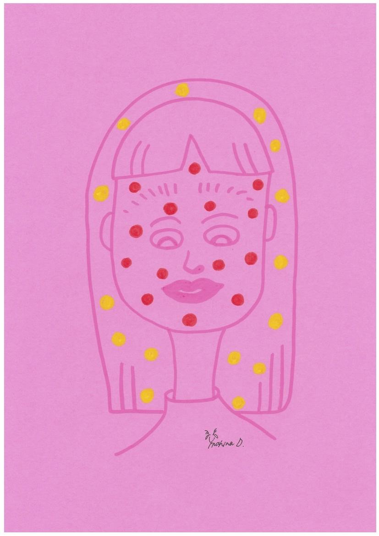 mahina イラスト『ピンク』