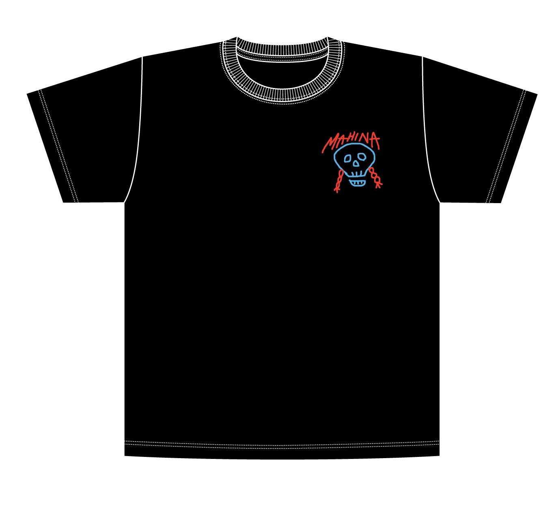 mahina skeleton T-shirt
