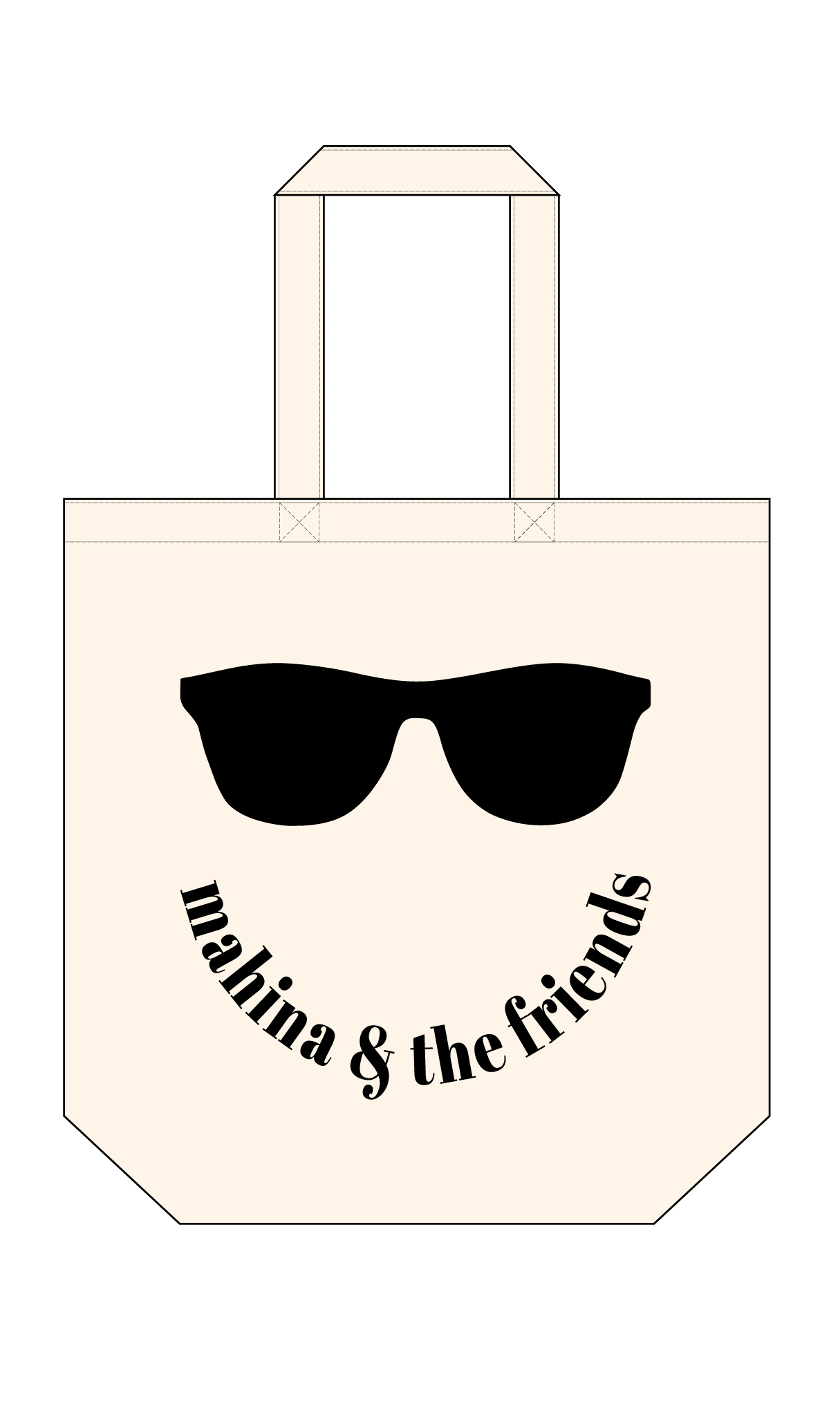 sunglasses tote bag