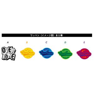 OverTone 刺繍ワッペン(全5種類)