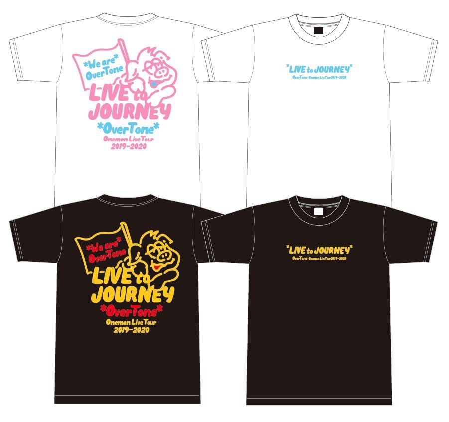 LIVE to JOURNEY TOUR Tシャツ