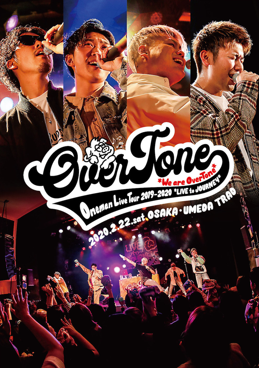 【LIVE DVD】OverTone Live Tour 2019→2020〜LIVE to JOURNEY〜@大阪umeda TRAD