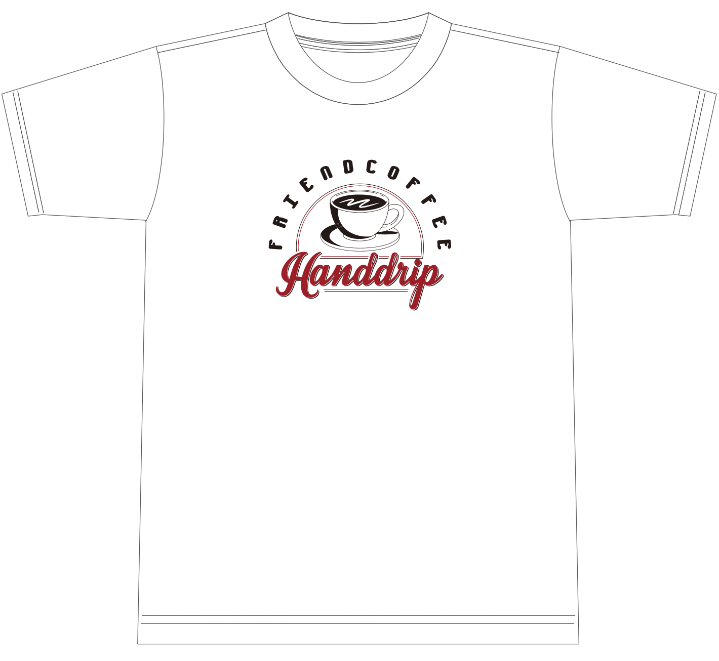 FRIEND COFFEE Tシャツ