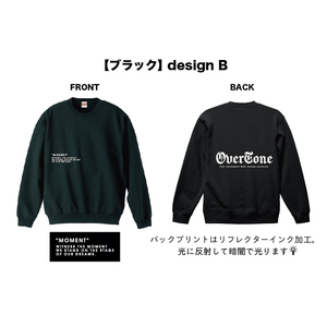 OverTone トレーナー B【受注商品】