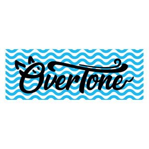 OverTone タオル  [ ブルー ]