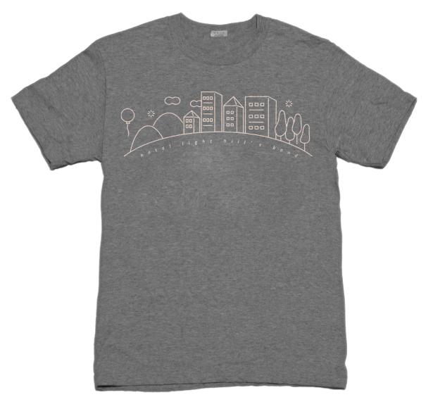 ホタルヒルズTシャツ(数量限定カラー)