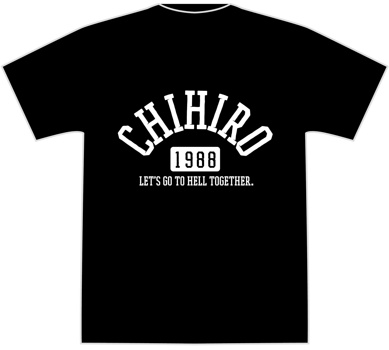 一緒に地獄へ行こう!Tシャツ ( ブラック )