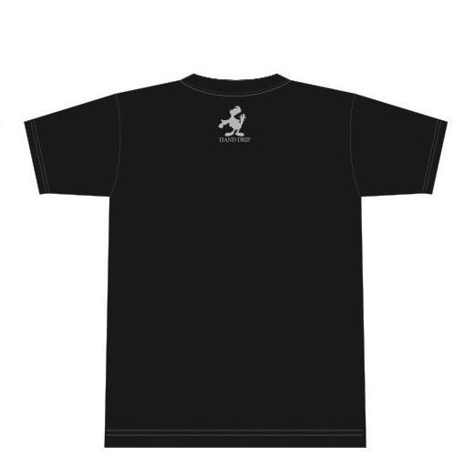 「HAND DRIP」Tシャツ2[ブラック]