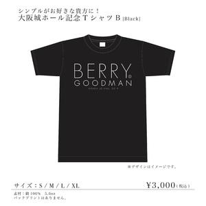大阪城ホール TシャツB (ブラック)