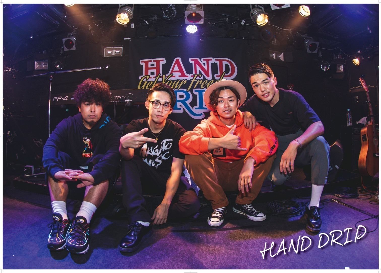 HAND DRIPポスター